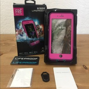 LifeProof FRE series for iPhone 7/8 plus - pink